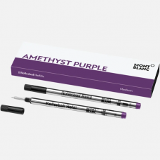 2 recharges pour rollerball (M) Amethyst Purple