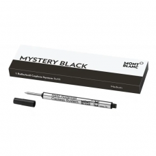 Recharge pour rollerball sans capuchon Mystery Black