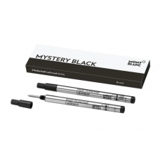 2 recharges pour rollerball LeGrand (B) mystery black