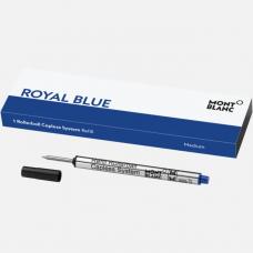 Recharge pour rollerball sans capuchon (M), Royal Blue