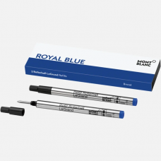 2 recharges pour Rollerball LeGrand (B), Royal Blue