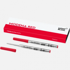 2 recharges pour stylo bille (M), Modena Red 2 recharges pour stylo bille (M), Modena Red