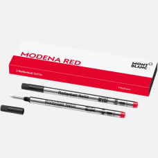 2 recharges pour rollerball (M), Modena Red