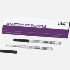 2 recharges pour stylo bille (M), Amethyst Purple