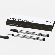 2 recharges pour rollerball LeGrand Broad Mystery Black