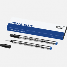 2 Recharges pour Rollerball Legrand (F)  Royal Blue