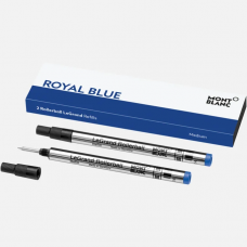 2 Recharges pour rollerball Legrand (M) Bleu