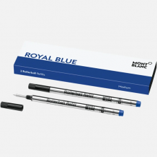 2 recharges pour rollerball (M), Royal Blue