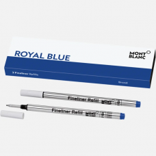 2 recharges pour feutre fin Broad, Royal Blue