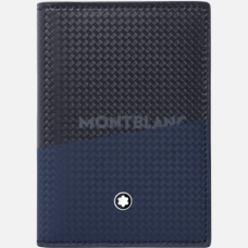 Porte-cartes de visite avec poche ajourée Montblanc Extreme 2.0 Blue