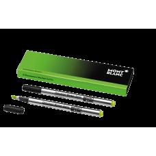 2 recharges pour surligneur Luminous Green