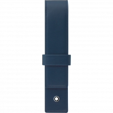 Etui à rabat pour 1 stylo Meisterstuck bleu