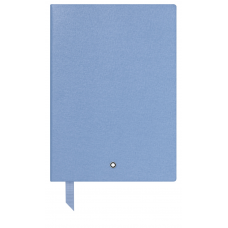 Carnet #146 Montblanc Fine Stationery, Light blue, avec lignes