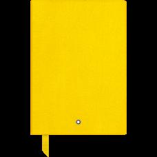 Carnet #146 Montblanc Fine Stationery, Yellow, avec lignes