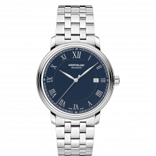 Montblanc Tradition Automatic Date blue