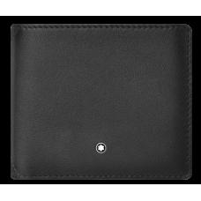 Portefeuille 4cc avec porte-monnaie Meisterstück Sfumato grey