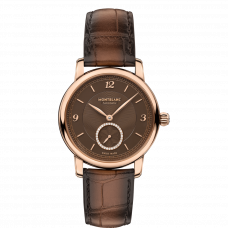 Montblanc Star Legacy  Small Second Brown- 36 mm