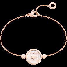 Bracelet Terre et Ciel Or Rose et Nacre