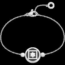 Bracelet Terre et Ciel Or blanc