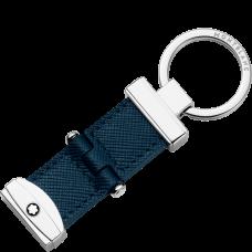 Porte-clés avec système à pivot Montblanc Sartorial Bleu