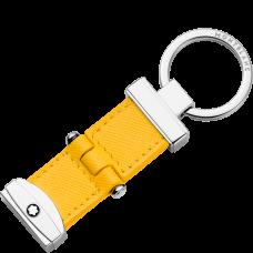 Porte-clés avec système à pivot Sartorial jaune