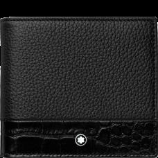 Portefeuille 4cc avec porte-monnaie Meisterstück Soft Grain