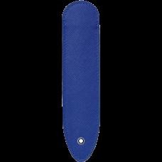 Etui fin 1 instrument d'écriture Montblanc Sartorial bleu électrique