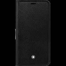Étui à rabat avec fonction support Meisterstück Soft Grain pour iPhone Apple XR