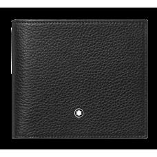 Portefeuille 4CC avec porte-monnaie MEISTERSTÜCK SOFT GRAIN NOIR