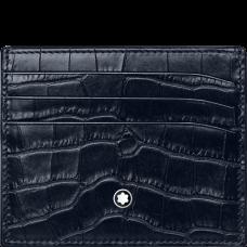 Porte-cartes 6cc Meisterstück Selection bleu