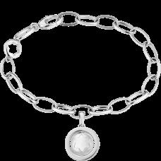 Bracelet Montblanc Star Signet en argent revêtu de laque rose