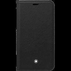 Étui à rabat avec poche 2cc et poche transparente Montblanc Sartorial pour iPhone Apple 11 Pro