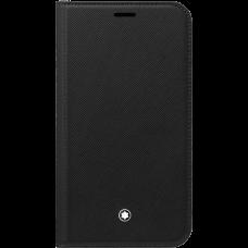 Étui à rabat avec poche 2cc et poche transparente Montblanc Sartorial pour iPhone Apple 11