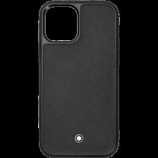 Étui rigide Montblanc Sartorial pour iPhone Apple 12 et 12 Pro
