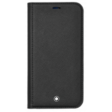 Étui à rabat avec poche 2cc et poche transparente Montblanc Sartorial pour iPhone Apple 12 et 12 Pro