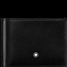 Portefeuille  Meisterstück 6cc avec pince à billets
